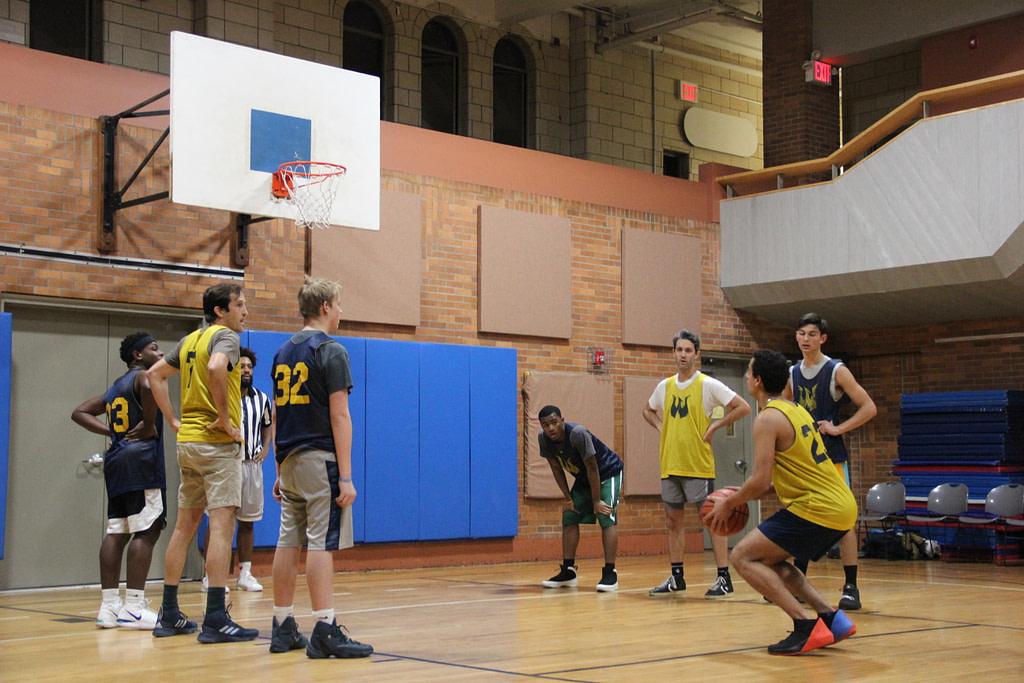 Upper class basketball