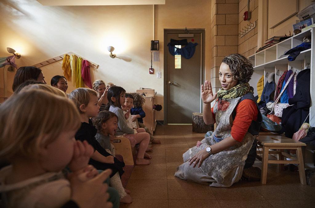 Parent Child classes help establish nourishing daily rhythms for your family.