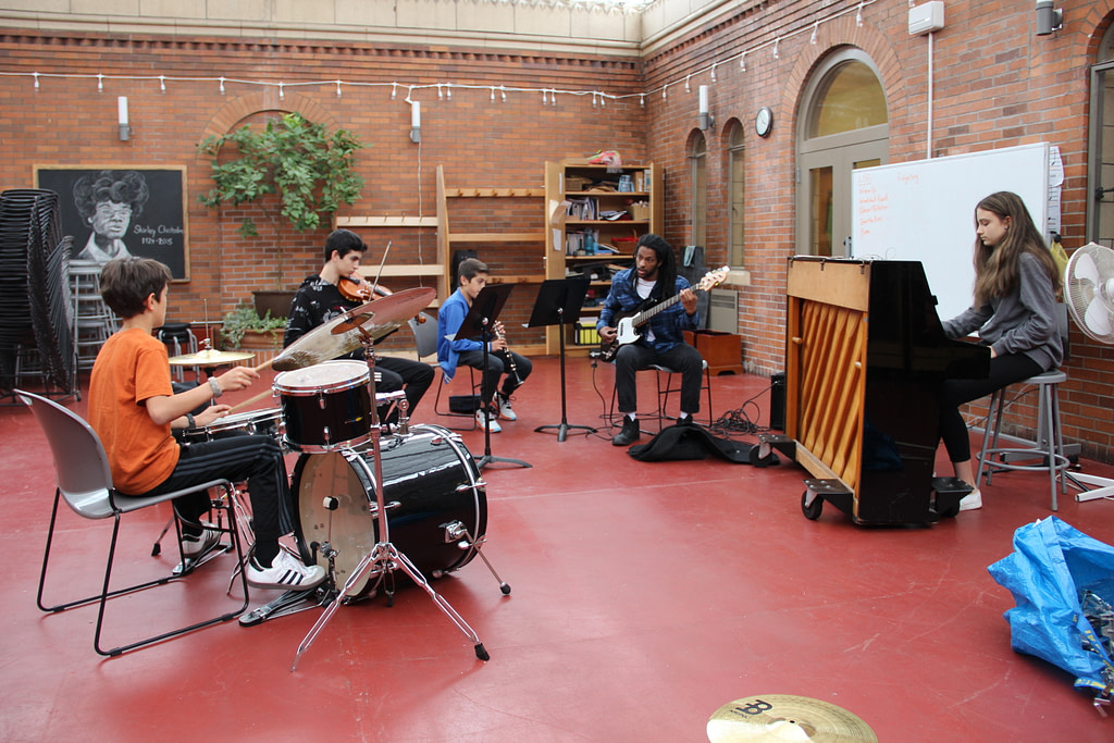 Jazz Band at Brooklyn Waldorf School